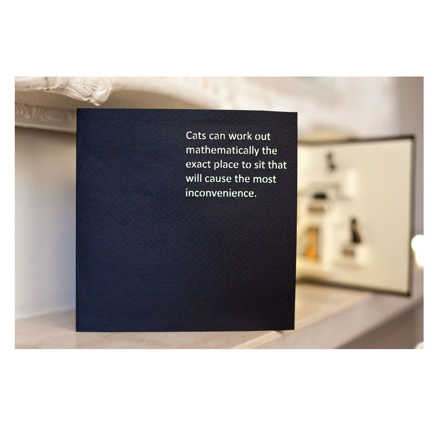 Inconvenient Cats Pop-Up Greeting Card In 2020