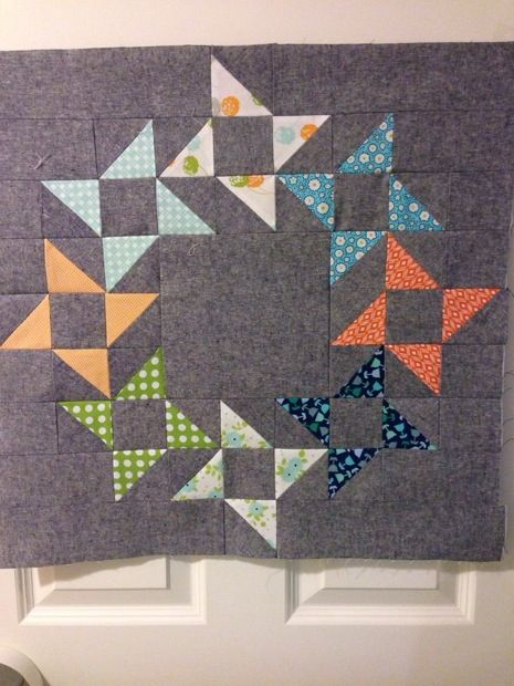 Work In Progress Wednesday Mini Round And Round Quilt Quilting