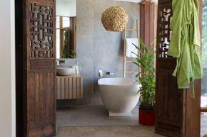 Arredare il bagno in stile etnico - Bagno in stile moderno