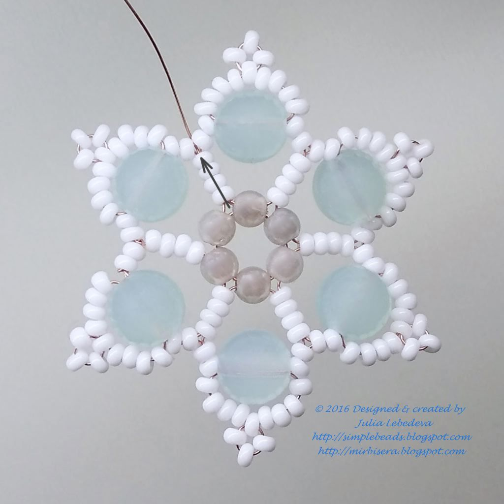 Free detailed tutorial on how to make a snowflake out of different ...