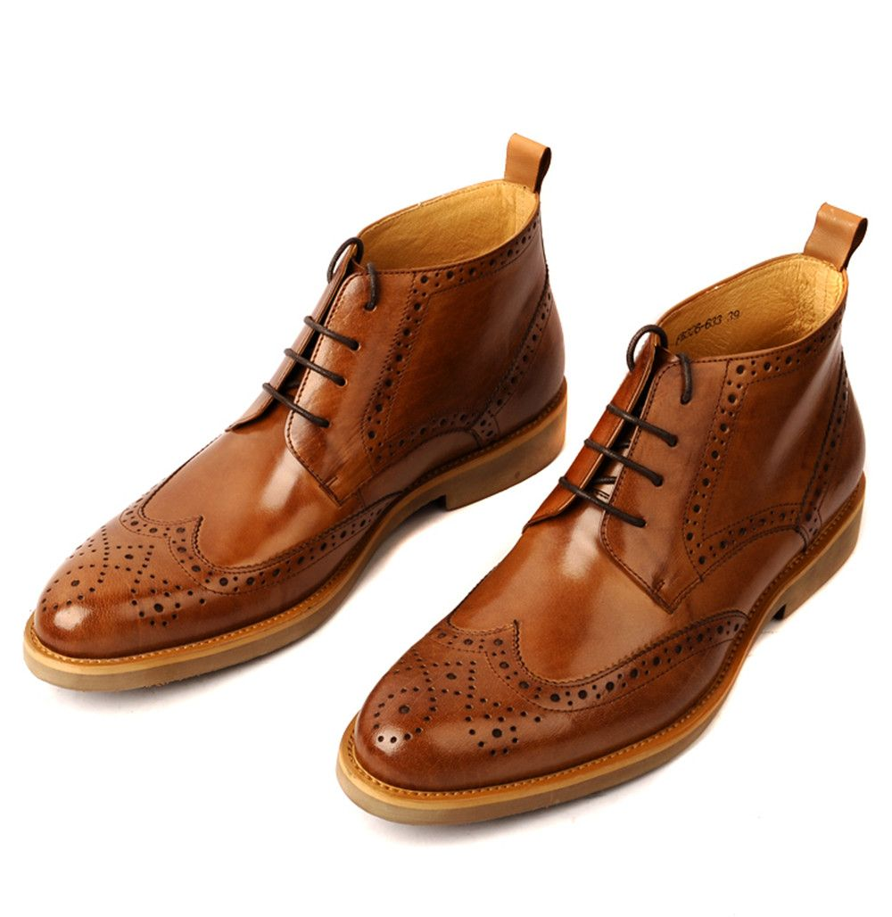 Long dress shoes vs boots