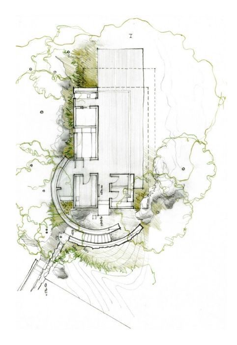 Sonoma Spa Retreat California Arch Plans Amp Drawings