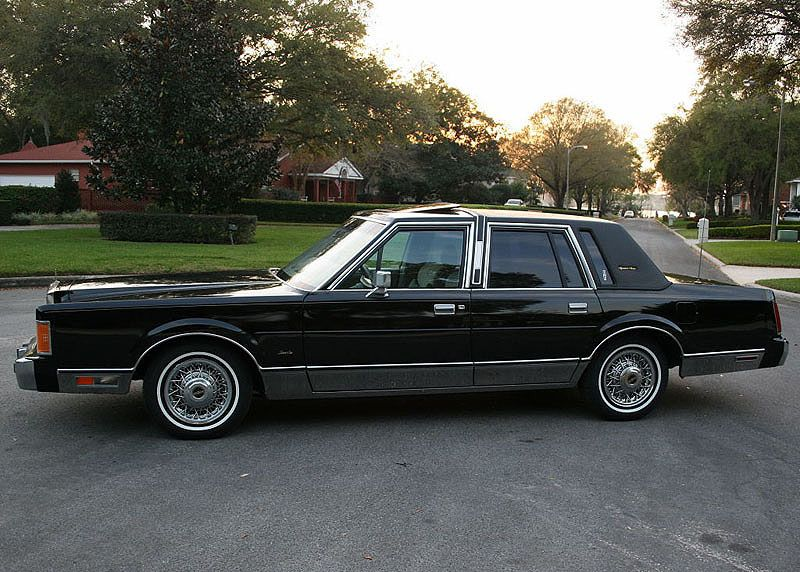 1989 Lincoln Continental Town Car A Project Lincoln Cars