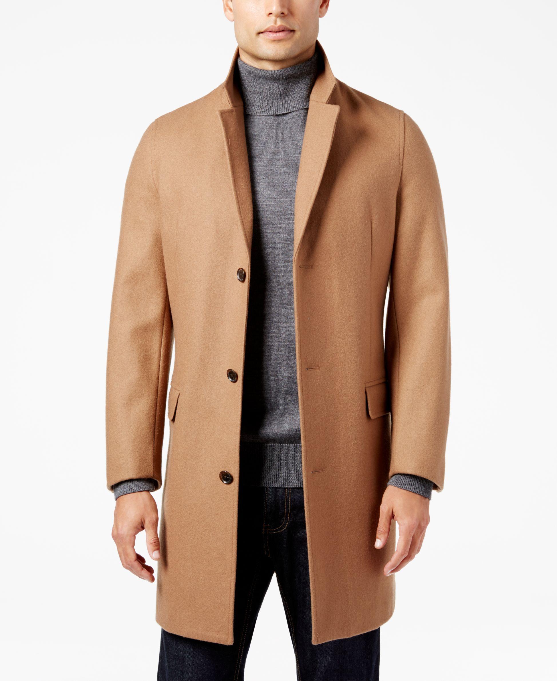 Inc International Concepts Men S Lancaster Top Coat Only At Macy S Mens Fashion Coat Mens Fashion Blazer Mens Fashion Blazer Casual Jackets [ 2378 x 1947 Pixel ]