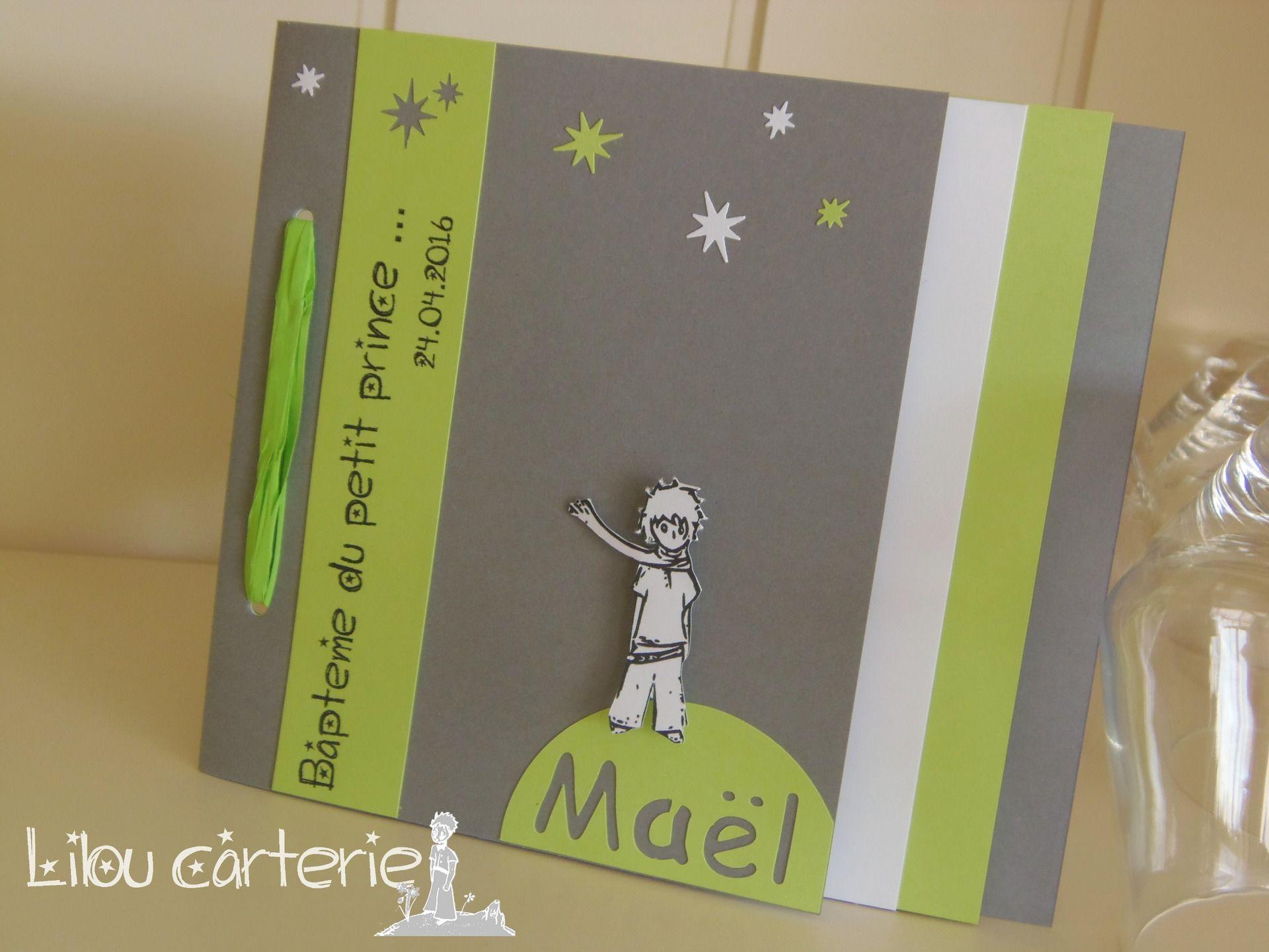 Extrêmement Faire part naissance ou bapteme garçon Le Petit Prince : etoiles  NS92