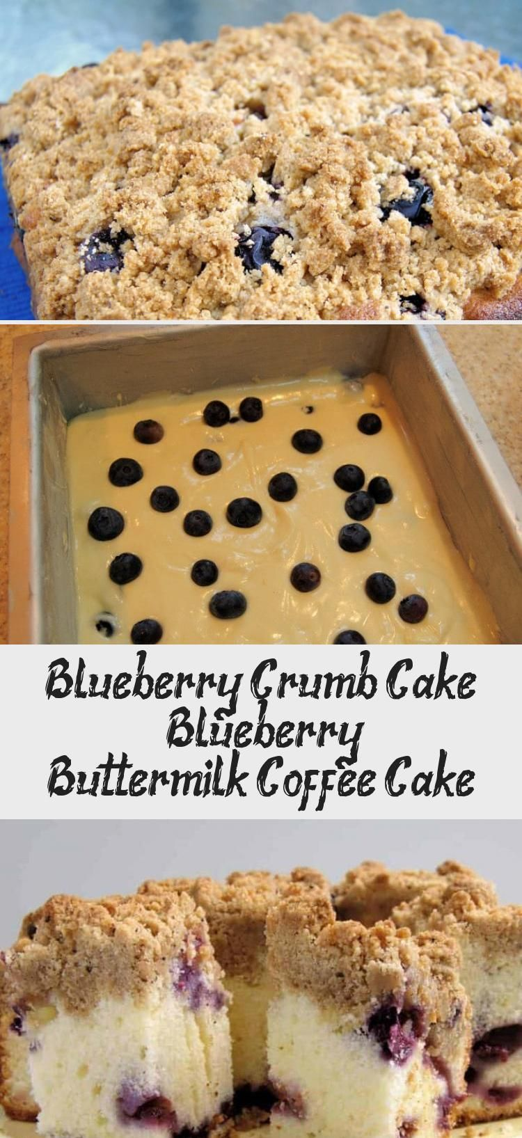 Blueberry Crumb Cake Soft Blueberry Buttermilk Coffee Cake Crowned With Brown Sugar Crumb Topping It In 2020 Blueberry Crumb Cake Buttermilk Coffee Cake Cake Recipes