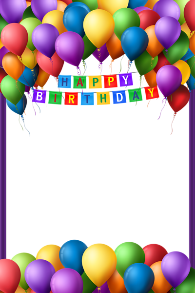 Happy Birthday Transparent Png Frame Happy Birthday Frame Birthday Photo Frame Happy Birthday Photos