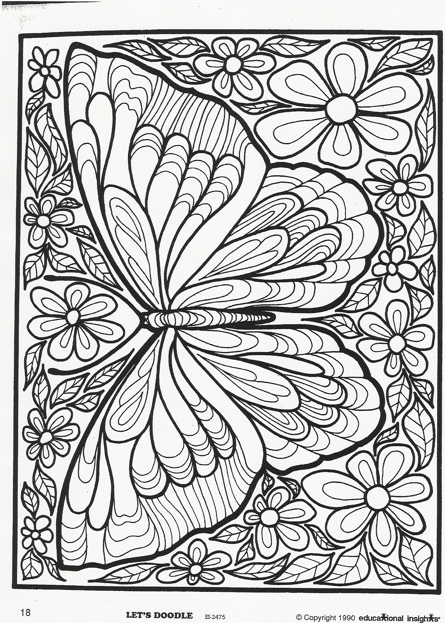 All Sizes Butterfly Flickr Photo Sharing With Images Butterfly Coloring Page Adult Coloring Pages Coloring Pages