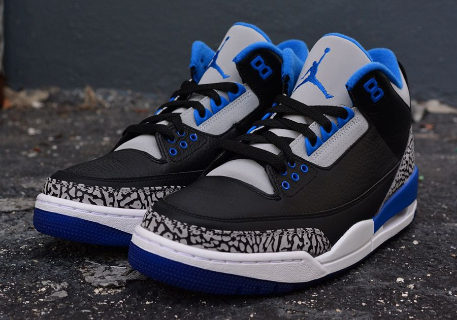 Air Jordan Retro 3 Bluesport