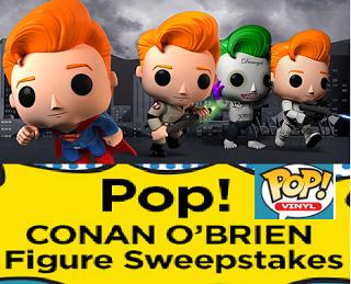 Conan Pop! Figure Sweepstakes
