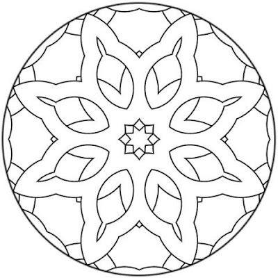 Mandala. Mandala para pintar | maqueta platos | Pinterest | Mandalas ...