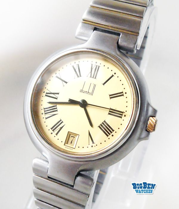 a063e62cc1a All Original Alfred DUNHILL Millenium Classic Watch with Roman Numeral Hours