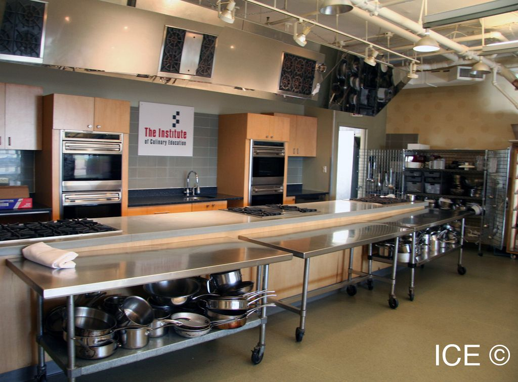 Our Demo Kitchen Ice Facilities Commercial Kitchen