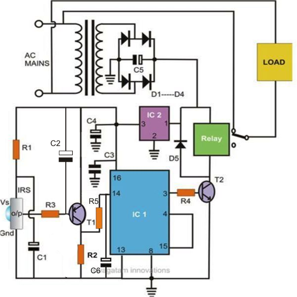 2 Simple Infrared  Ir  Remote Control Circuits