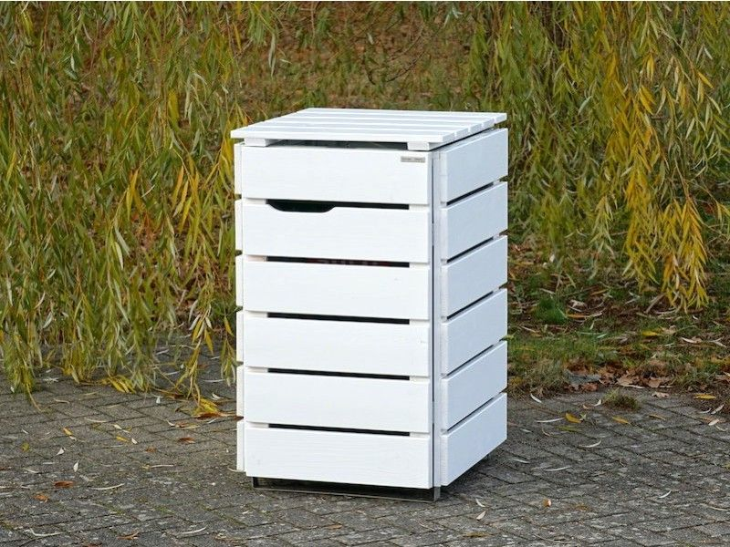 1er Mulltonnenbox Holz 240 Liter Mulltonnenbox Holz Mulltonnenbox Und Mulltonnenverkleidung