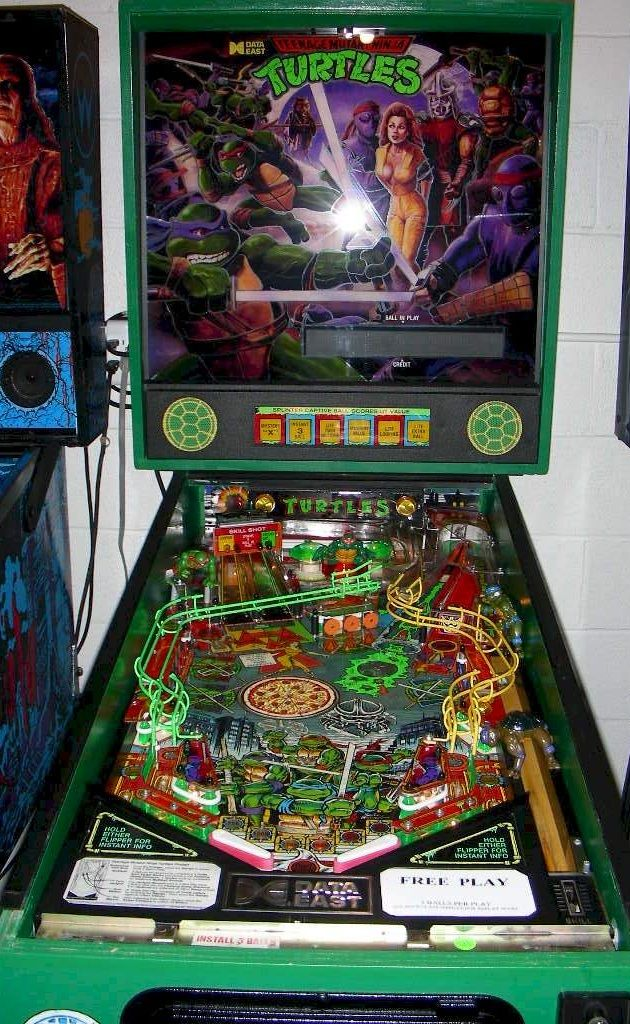 Data East Also Would Be The Team Behind A Batman Pinball