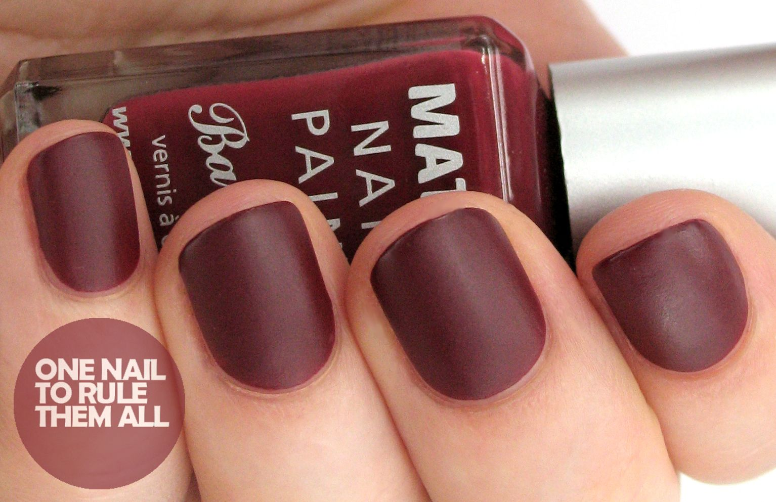 Dark red matte nail polish | Women\'s Apparel | Pinterest | Red matte ...