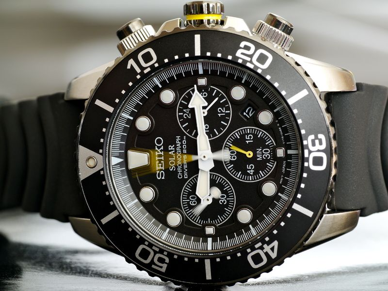 pretty nice 98b18 1d5a1 SSC021P1 Solar Diver's Chrono: Brand-new model done in old ...