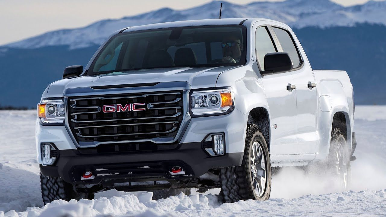 2021 Gmc Canyon At4 Premium Midsize Truck V 2020 G