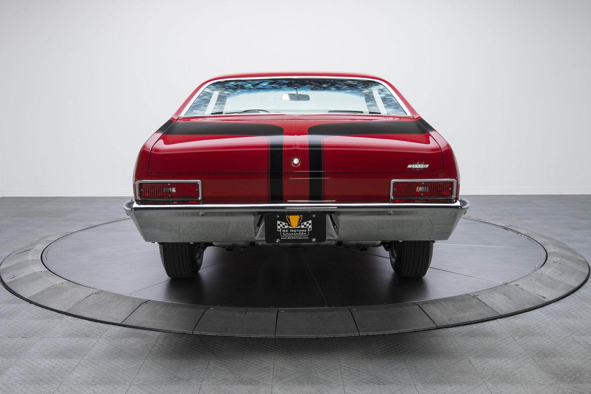 1970 Chevrolet Nova Documented Restored Numbers Matching Concours Gold Yenko Nova Deuce Lt1 350 V8 Chevrolet Nova Number Matching Chevrolet