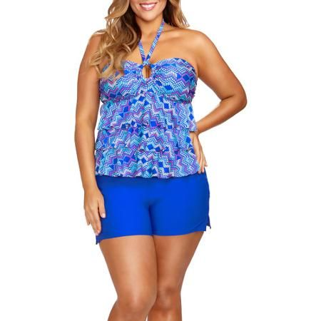 860f331246a Collections by Catalina Women s Plus-Size Full Coverage Swimshorts  32.96