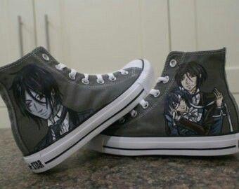 Sebastian - kuroshitsuji shoes