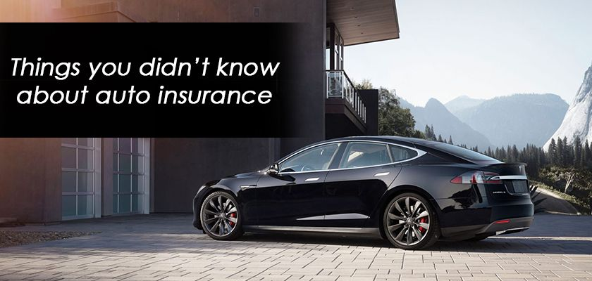Things You Didn T Know About Auto Insurance Quotes Auto