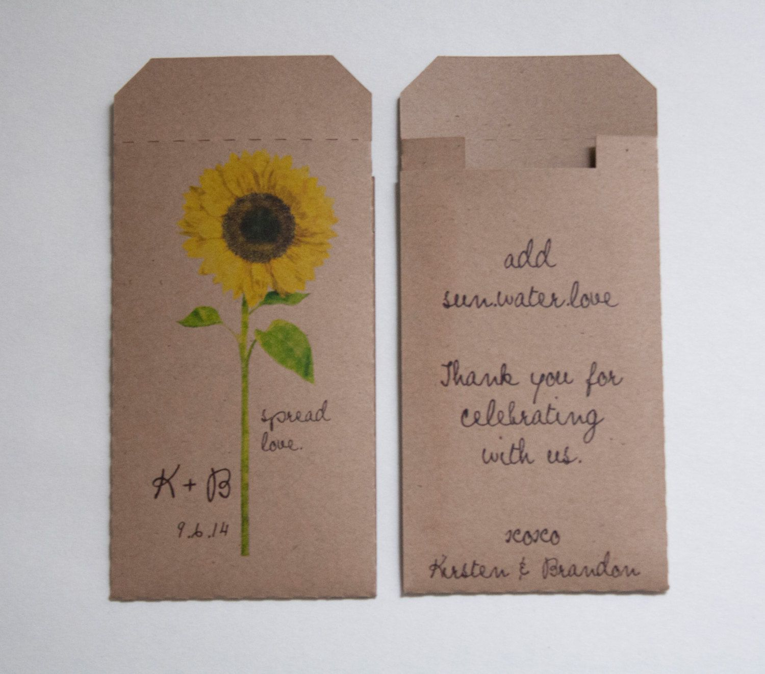 Sunflower Wedding Favor Ideas: Pin By Tammy Block On J Wedding Ideas