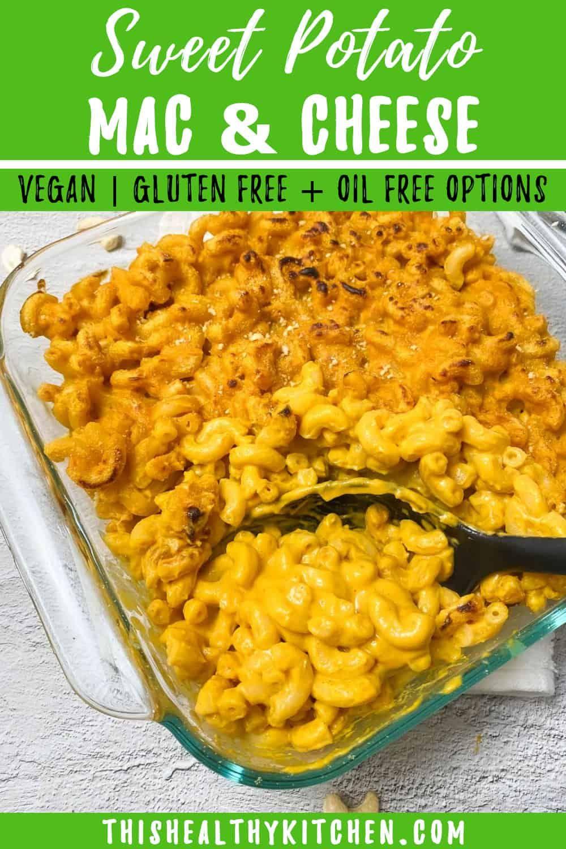 Vegan Sweet Potato Mac And Cheese This Healthy Kitchen Recipe In 2020 Vegan Sweet Potato Nutritional Yeast Recipes Healthy Kitchen