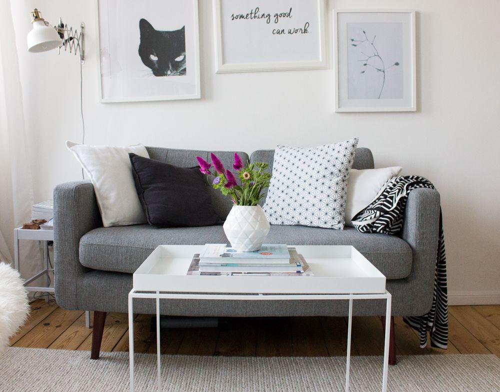 Der große kleine Rundumblick Die socke, Aufräumen und Wohneinrichtung - Wohnzimmer Einrichten Grau