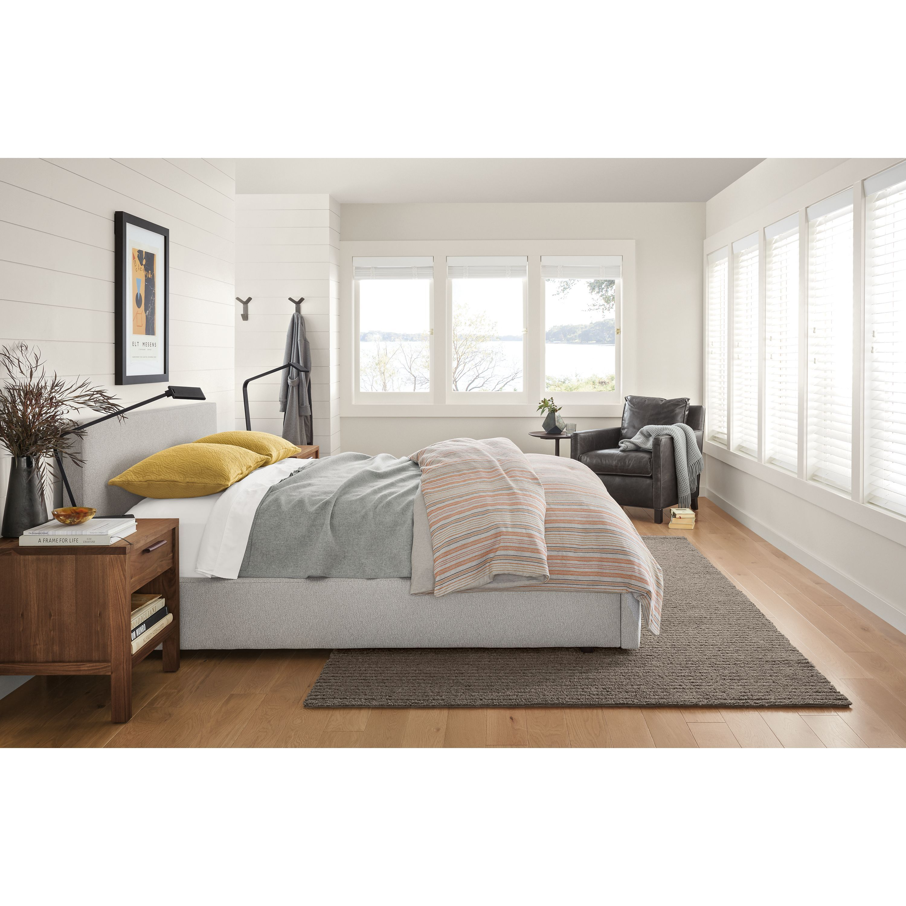 Room u board wyatt bed with storage drawer in products