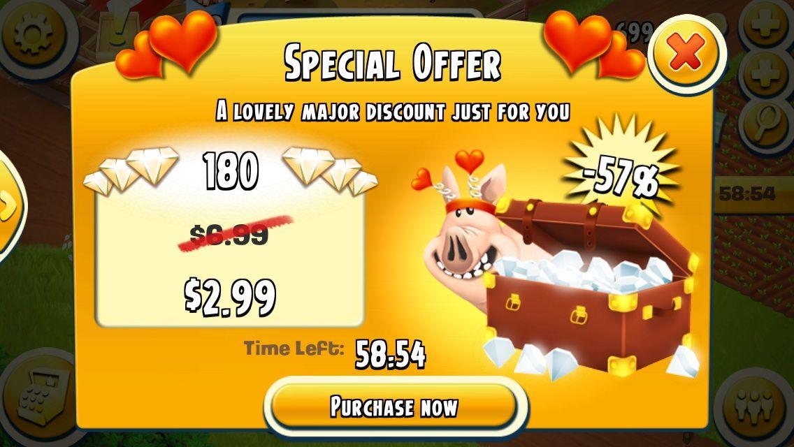 hay day diamond sale discount - Google Search | ui buy