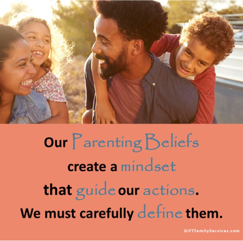 Parenting Beliefs Create a Mindset and Guide Our Actions
