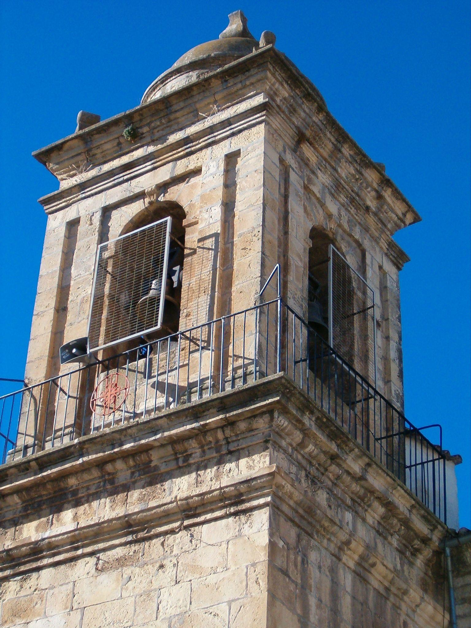 campanario de la iglesia de San Amador