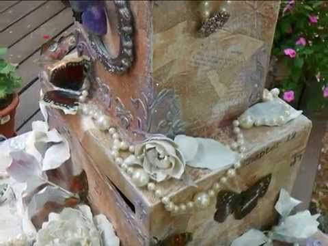 Wedding Card Money Receiving Box Rustc Enchanted Themed – Wedding Card Receiving Box