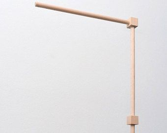 Baby Crib Wooden Mobile Arm Baby Mobile Stand Nursery Mobile