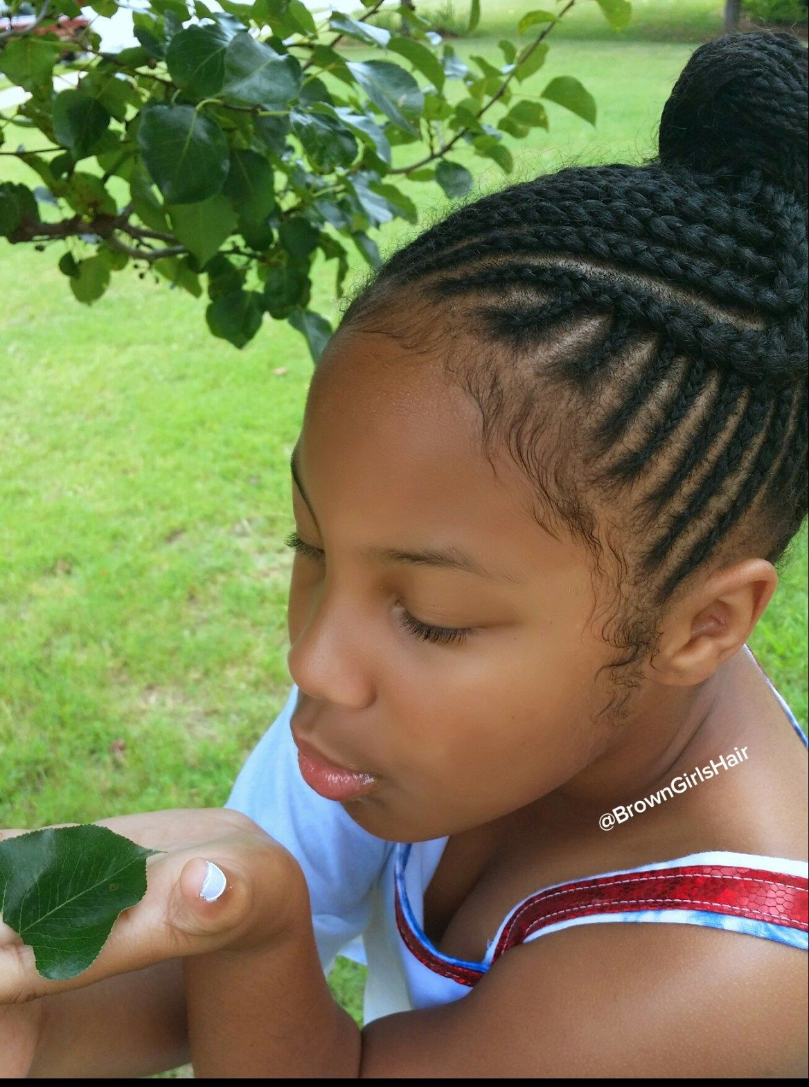 brown girls hair, braids, cornrows, little, black, girls