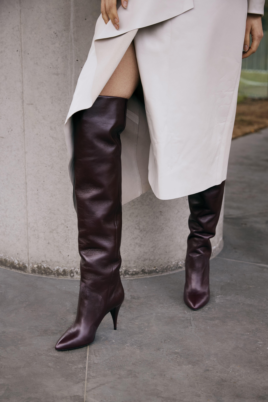 SAINT LAURENT's 'Kiki' boots were worn