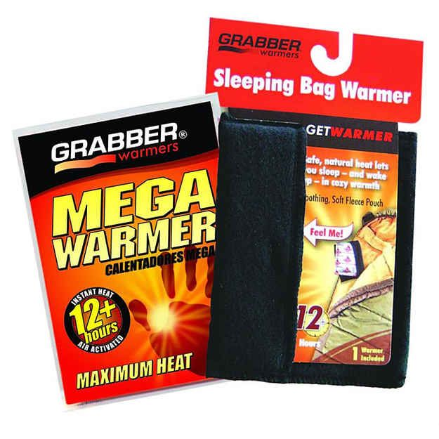 Photo of Use hand warmers to warm up your sleeping bag.