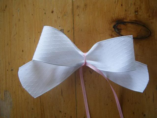 how to make bows. easy.