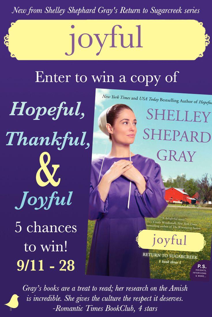 Joyful book giveaway