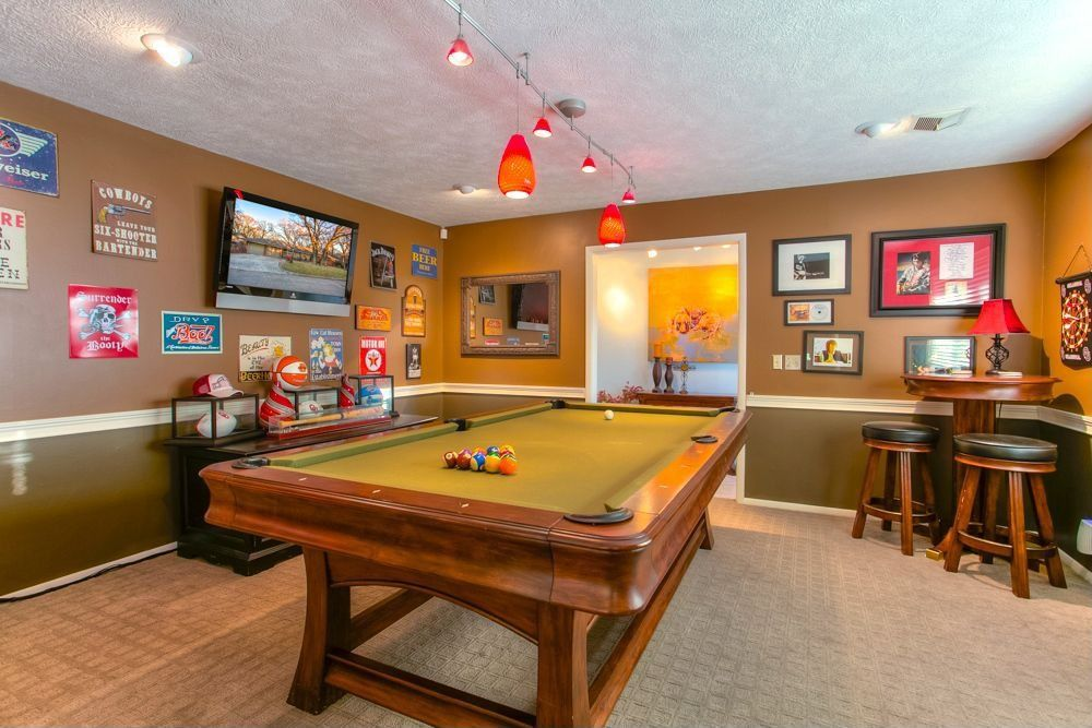 If you long for more room in your home, there's another solution besides moving to a larger house. Home Improvement Archives   Game room, Home, Traditional games