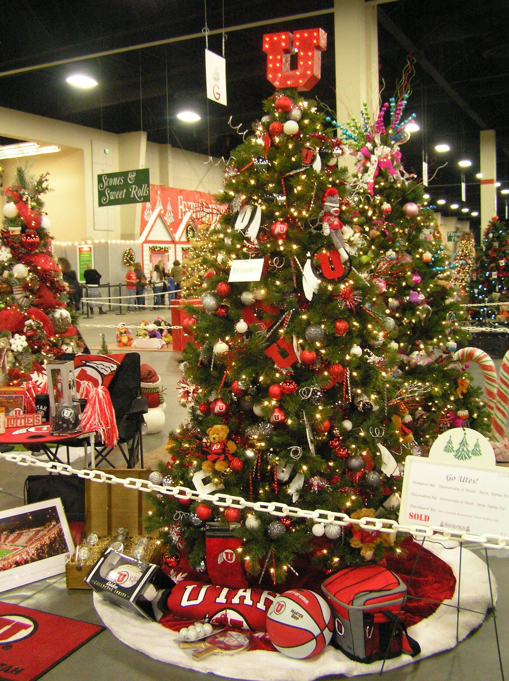 University Of Utah Tree Holiday Decor Tree Christmas Tree