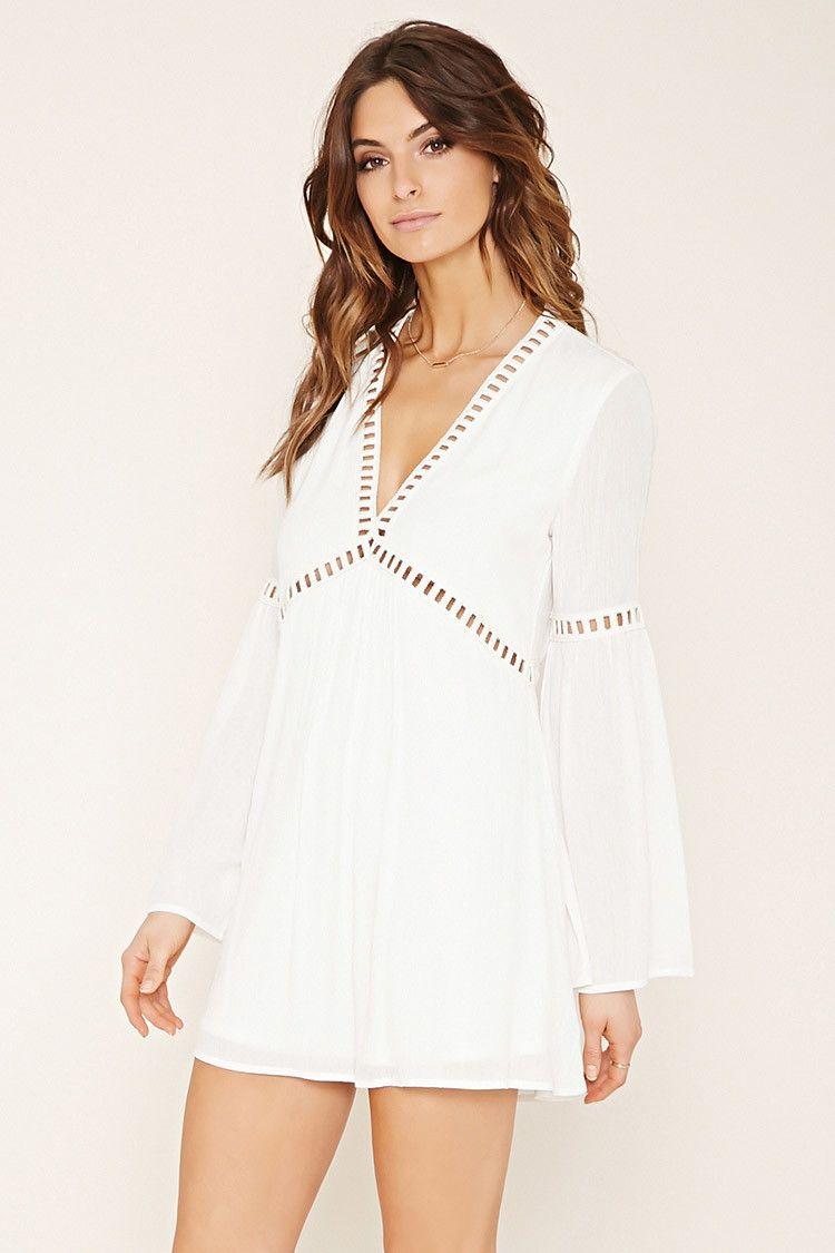 212883e9969 Contemporary Crochet Trim Dress