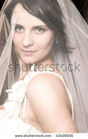 Short Haired Brides Stock Photos, Images, & Pictures | Shutterstock
