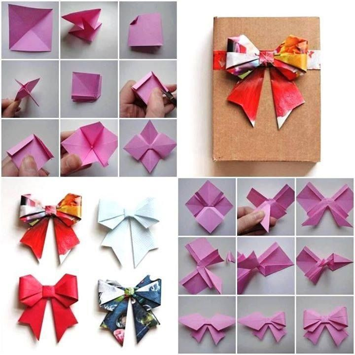 Origami Bow Gift Wrapping Pinterest Origami Bow And Origami