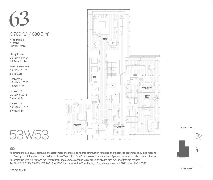 Tower 53 Condos For Sale And Condos For Rent In Manhattan: 53 West 53rd St. #63 In Midtown, Manhattan