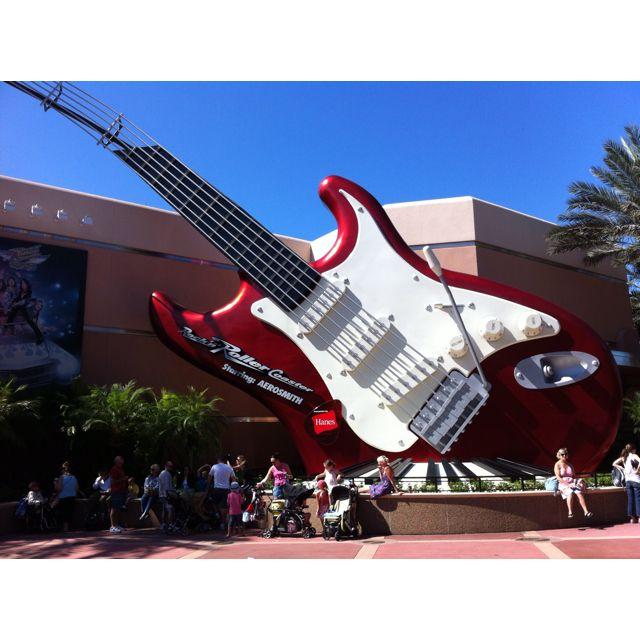 Rockin' Rollercoaster At Disney Hollywood Studios! I Love