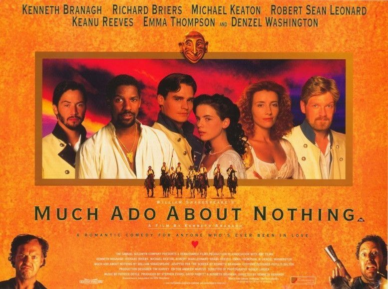 Much Ado About Nothing 11x17 Movie Poster (1993)