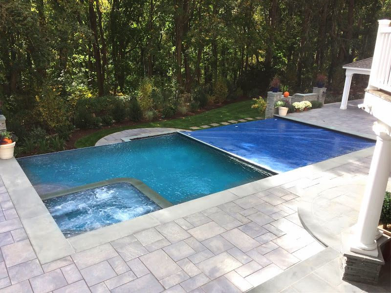 Vanishing Edge Infinity Edge Safety Cover Automatic Pool